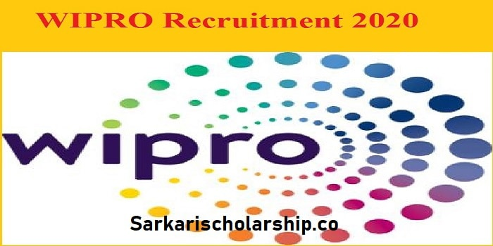 wipro recruitment 2020 Apply now