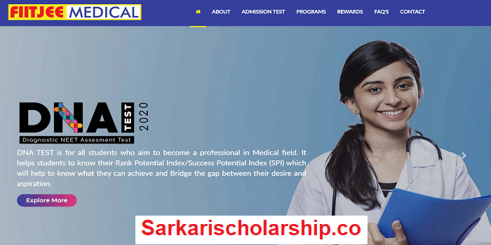 FIITJEE Medical Catalyzer Admission Cum Scholarship Test 2020 fiitjeemedical.com