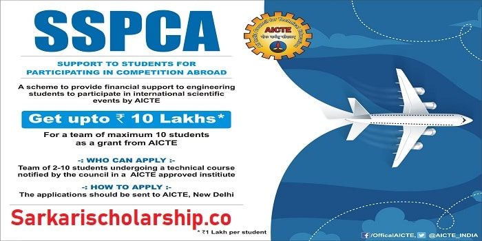 Support to Students for Participating in competitions Abroad Scheme (SSPCA)