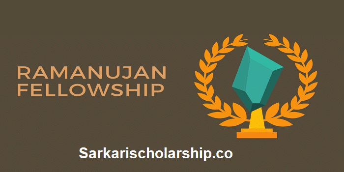 Ramanujan Scholarship 2020 apply now