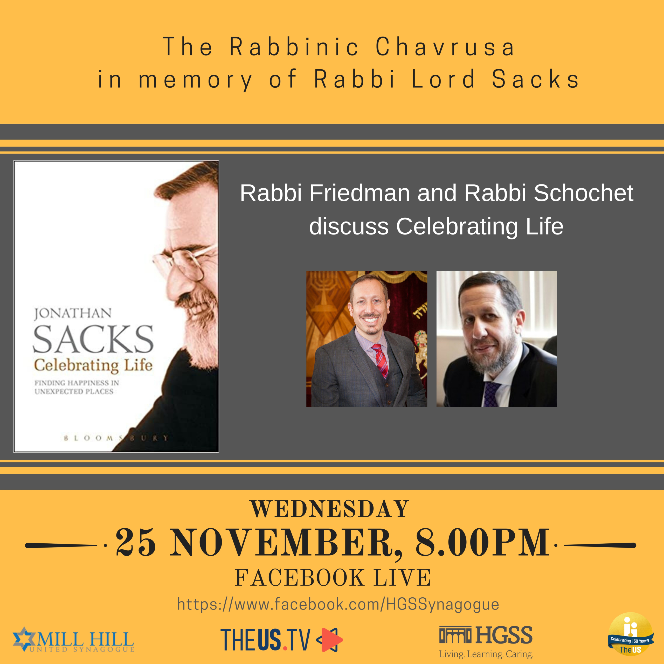 The Rabbinic Chavrusa @ Facebook Live