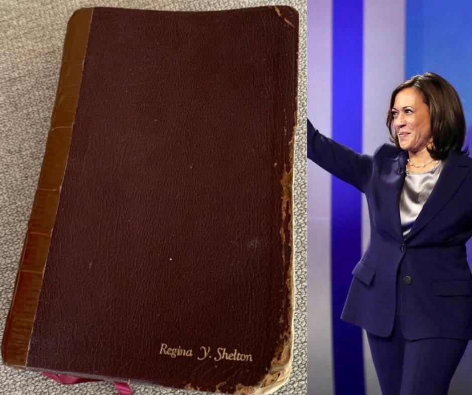 કમલા હેરિસ વર્ષોથી એક જ બાઈબલ પર હાથ મૂકીને શપથ લે છે, US વાઈસ પ્રેસિડન્ટના 'સેકન્ડ મધર્સ બાઈબલ'નું સિક્રેટ શું છે?