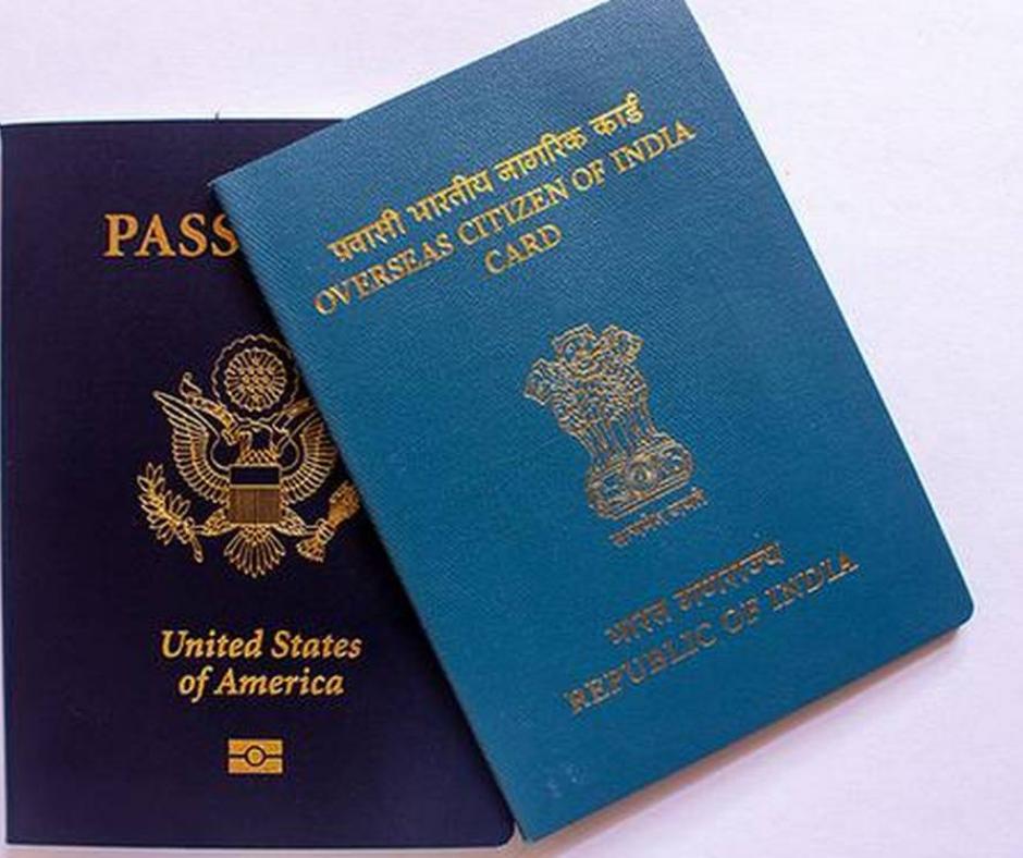 વિદેશમાં રહેતા ઈન્ડિયન્સ માટે મોટા ન્યૂઝઃ OCI કાર્ડ ધારકોએ જૂનો પાસપોર્ટ રાખવાની જરૂર નથી