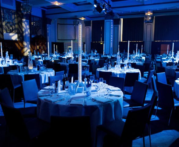 Table layout from a Gala Dinner at The Principal Hotel Manchester