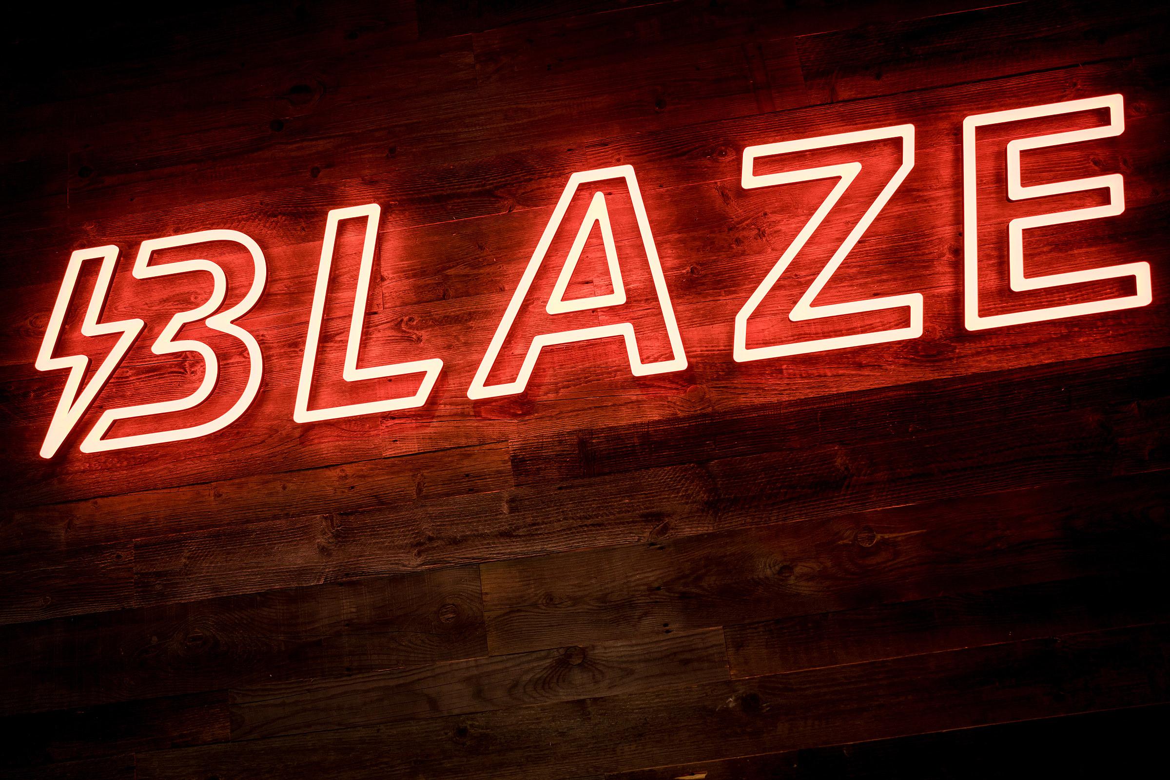Blaze branding