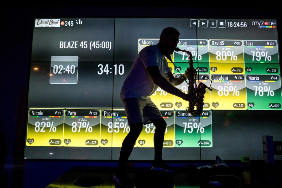 Saxophonist Entertainer