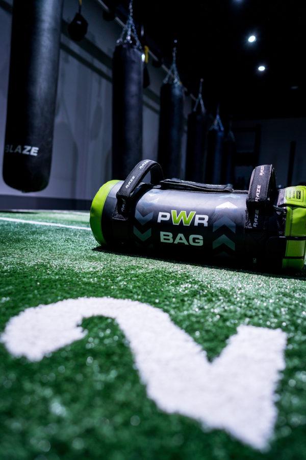 Blaze PWR Bag equipment