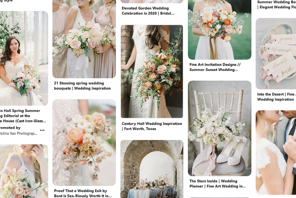 Top tips for using Pinterest for your wedding