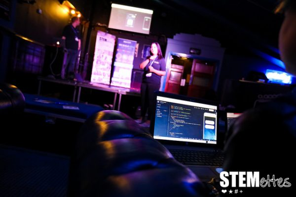Eva at Stemettes women in technology event