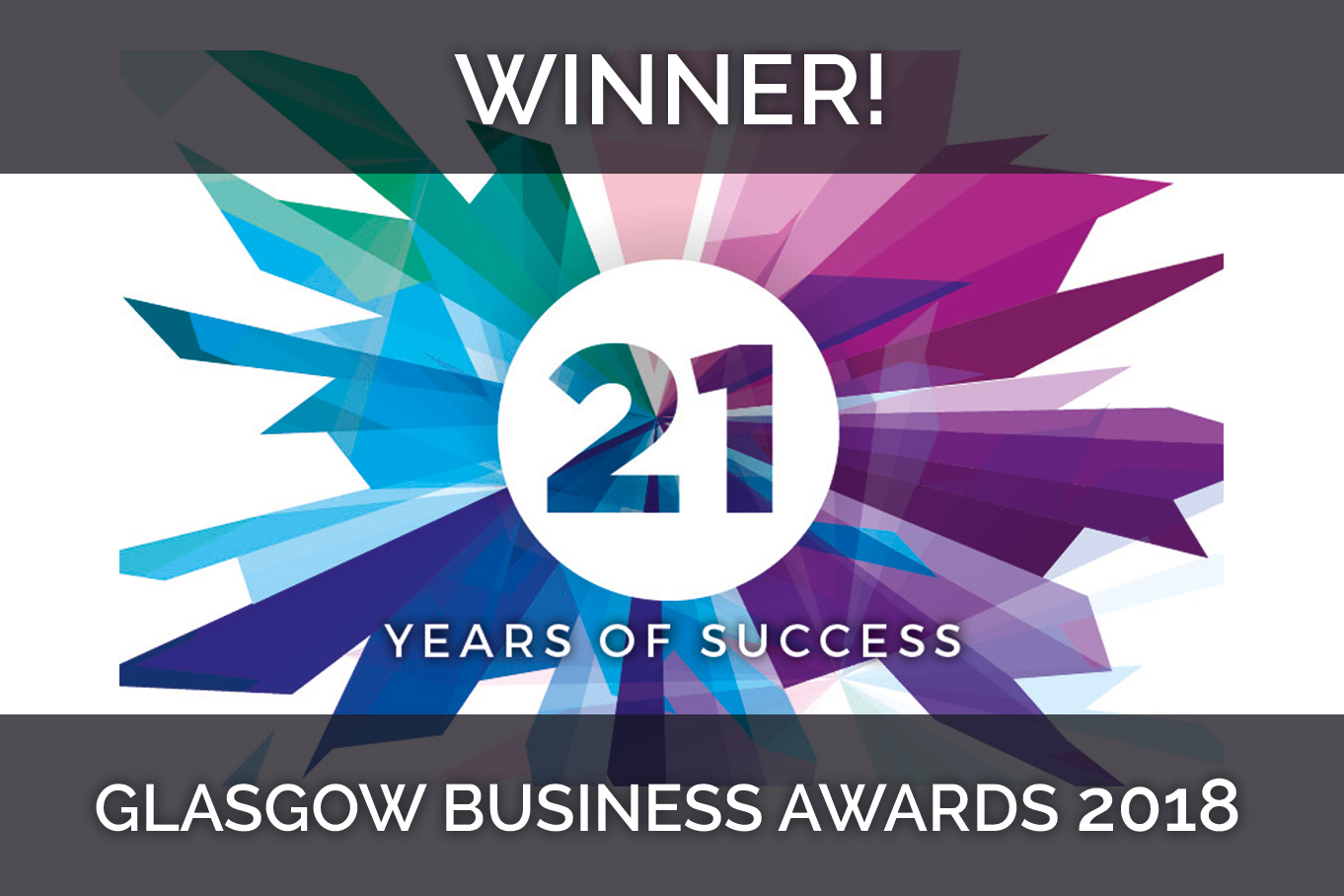 Entrepreneur of the Year at the Glasgow Business Awards