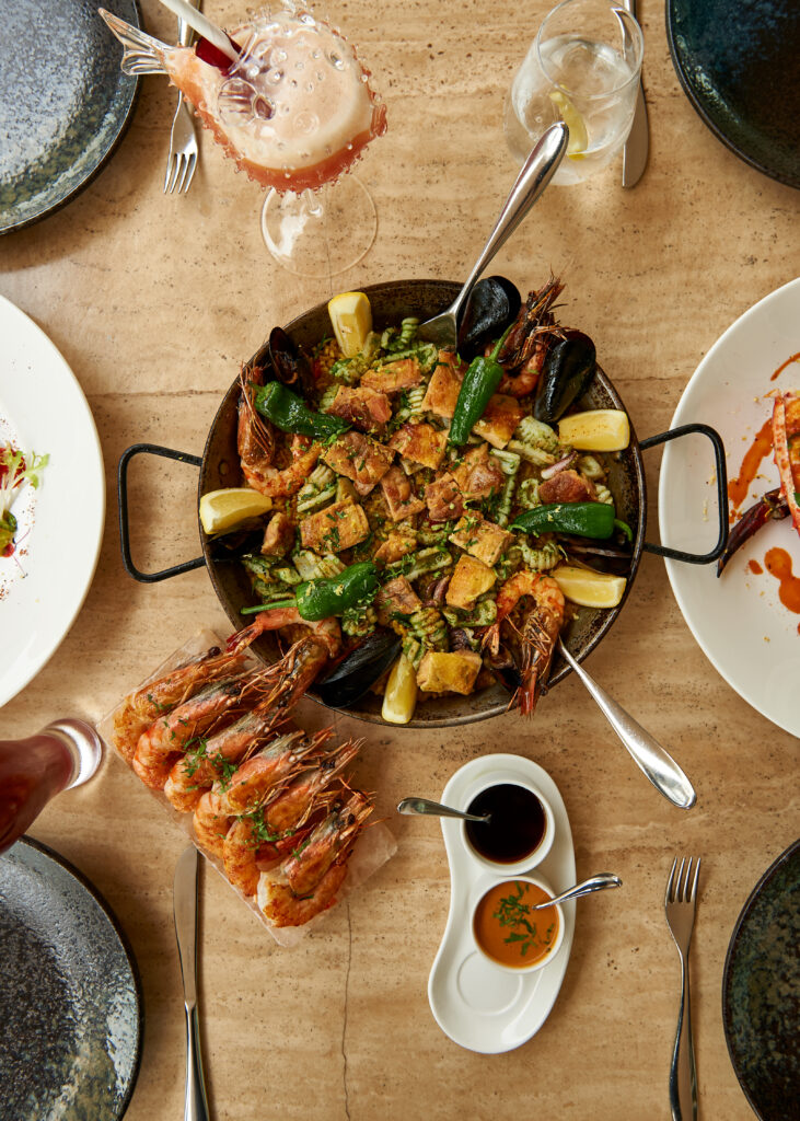 Recipe: seafood & chicken paella by Yannick Alléno - The Restaurant Co. Stories - Recipes