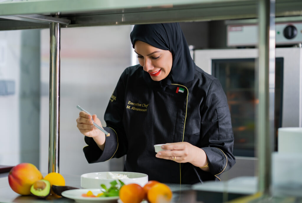 Get to know: Chef Mariam Almansoori - The Restaurant Co. Stories - Chefs - Culinary tales