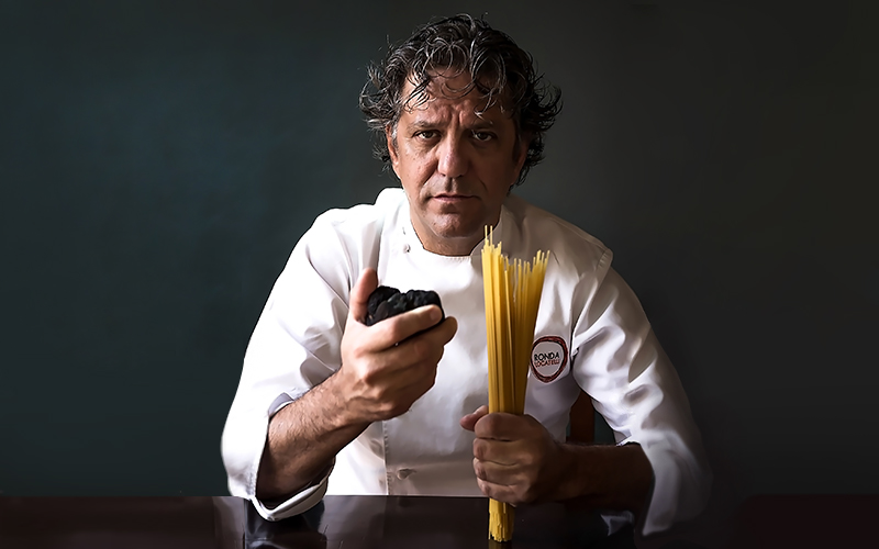 Giorgio Locatelli: buying, storing and using truffles - The Restaurant Co. Stories - Chefs - Culinary tales