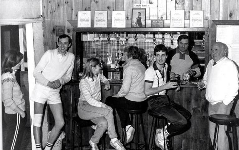 Moseley Tennis Club 1971