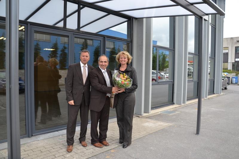 Visite de M. Alain Courtois et de Mme Marion Lemesre