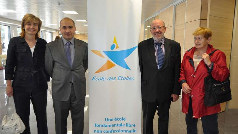 Le 10 mai 2012 nous avons eu la visite de Mr. Louis Michel et de Madame Françoise Schepmans