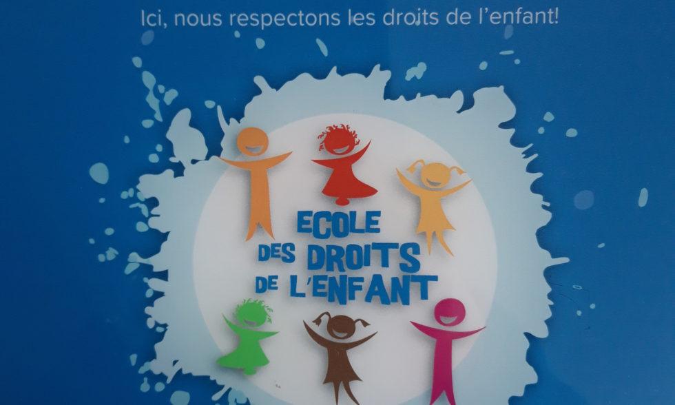 L'Ecole des Etoiles devient une école des droits de l'enfant