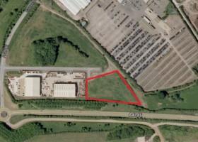 union crt leighton buzzard satellite pic clock property office industrial retail development