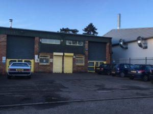 Unit 45 Harmill Ind Est, Grovebury Road, Leighton Buzzard industrial clock