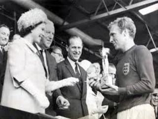 Bobby Moore and The Queen