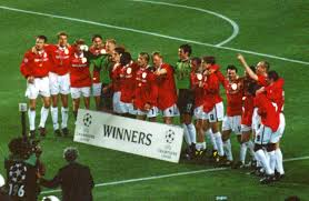 Manchester United 1999 Champions League Winners