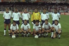 England World Cup 90 Team