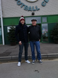 Father and Son at Yeovil Town