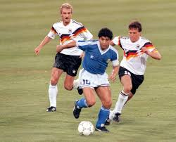 Diego Maradona in the 1990 World Cup Final