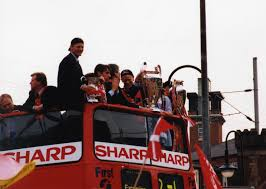 Manchester United Open Top Bus Parade 1999