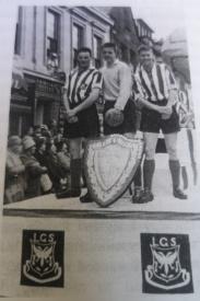 Lanark Grammar 1959 Scottish Schoolboy Shield Winners