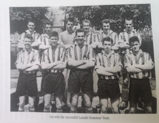 1959 Scottish Shield Champions Lanark Grammar