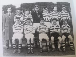 Lanark Grammar Team Photo 1950s