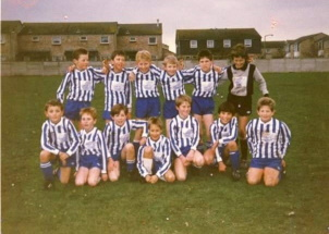 Hamworthy Royals Under 10 Team in 1987