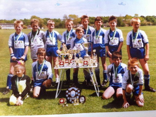 Hamworthy Royals Under 11 Team - Dorset League and Cup Winners