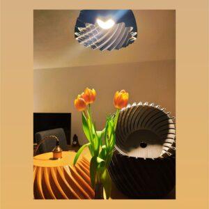 """Designer Lampe """"80's"""""""