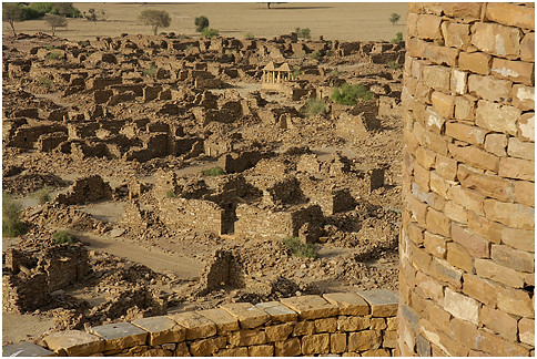 Kuldhara Abandoned Temple