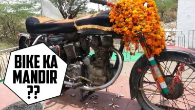 bike temple in India, om banna temple, bullet baba
