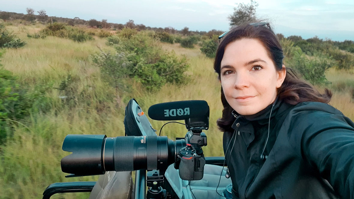 Tanda Tula - Britt on safari in the Greater Kruger, South Africa