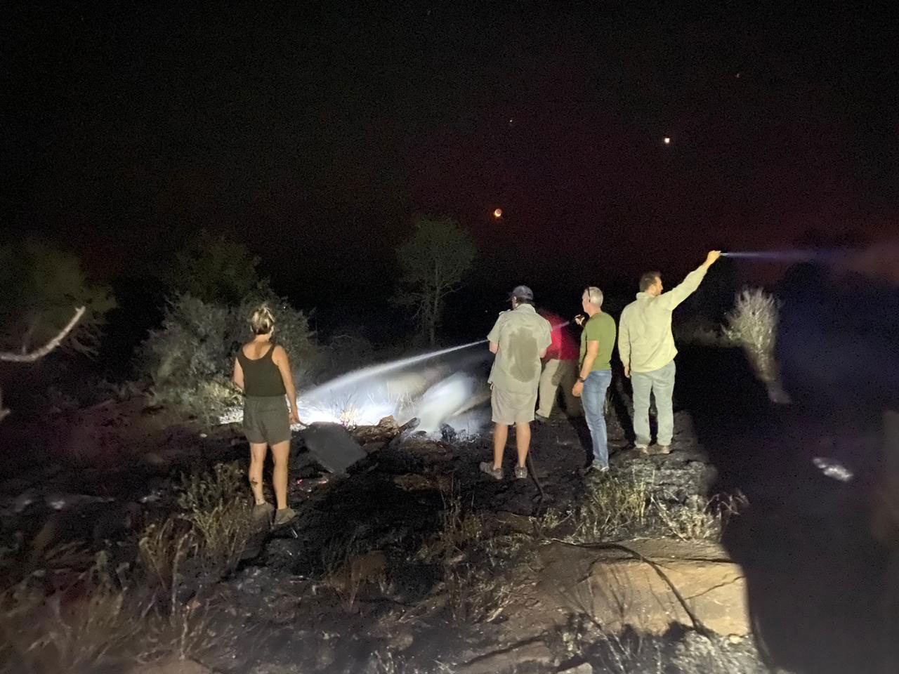 Tanda Tula - fire fighting in the Greater Kruger, South Africa