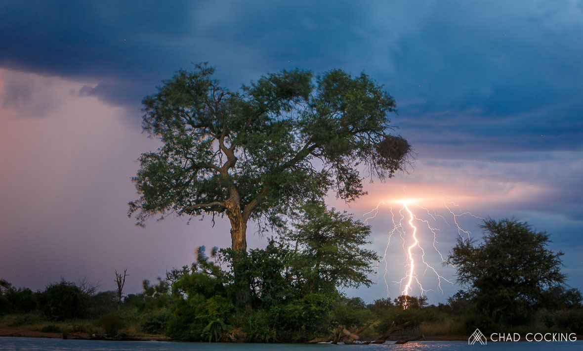 Tanda Tula - lightning in the Greater Kruger, South Africa