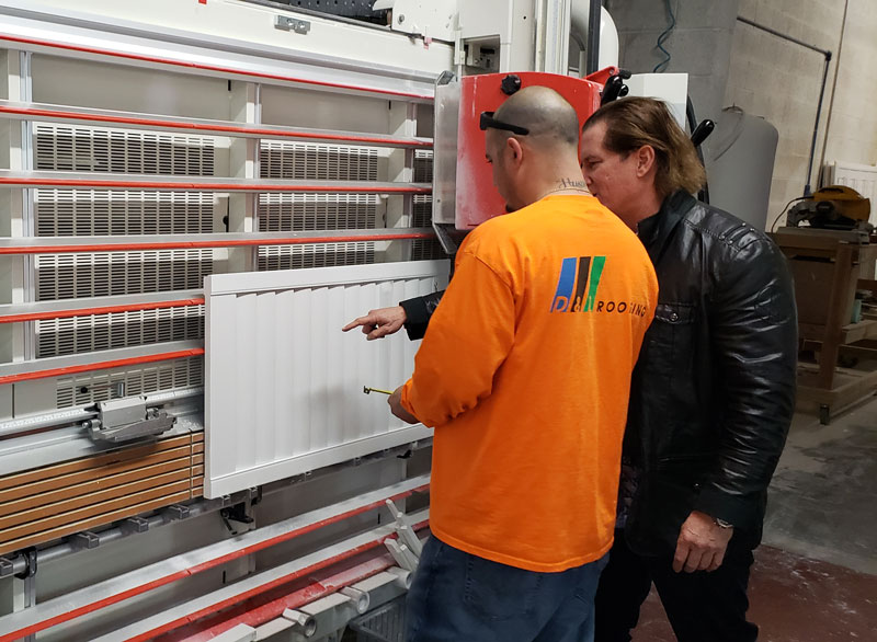 custom made shutters in our local factory