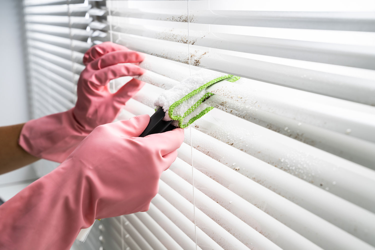 How To Clean Shutters And Blinds