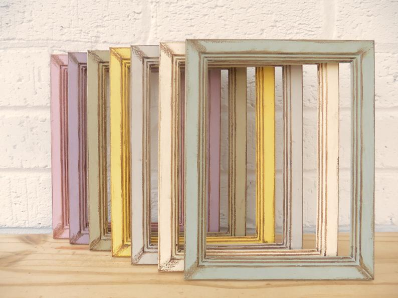 Shabby Chic French Inspired Picture Frames