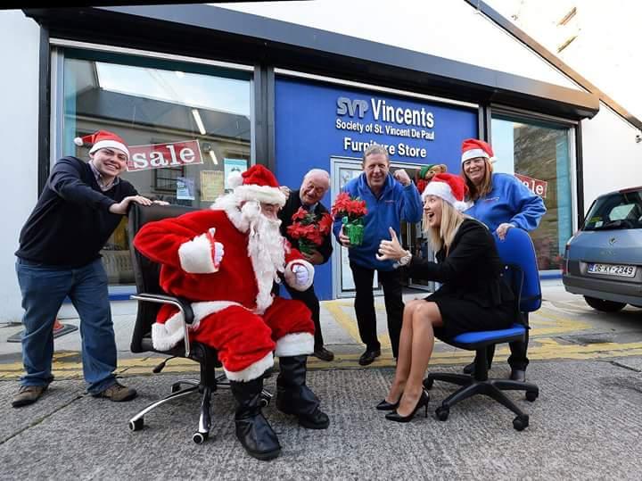 Christmas charity chair race for St Vincent de Paul, Co Kerry