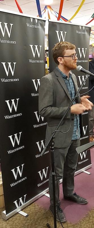Matthew Parkinson-Bennett, publisher LIttle Island Books
