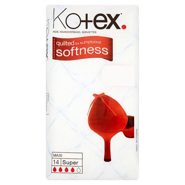 Kotex Maxi Super 14 Pads