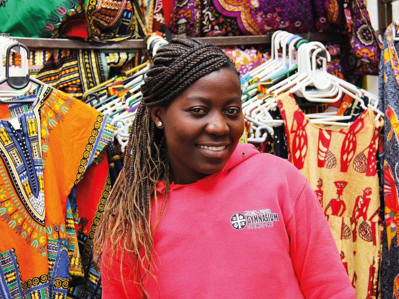 African female entrepreneur