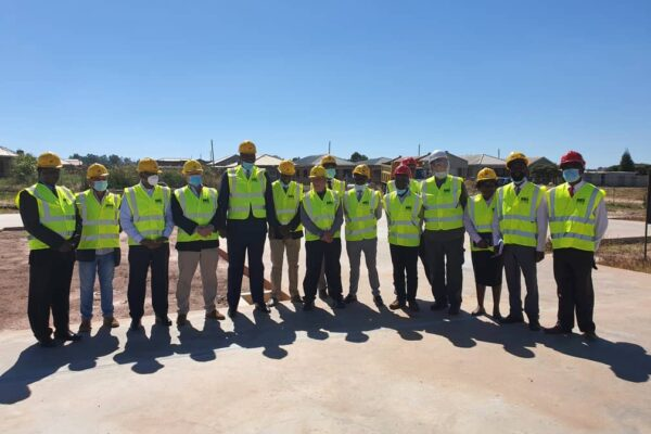 7th May 2021 - Ministry of Finance Visit to Harare South Site