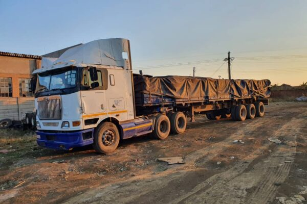 4th June 2021 - Arrival of Steel at Harare South