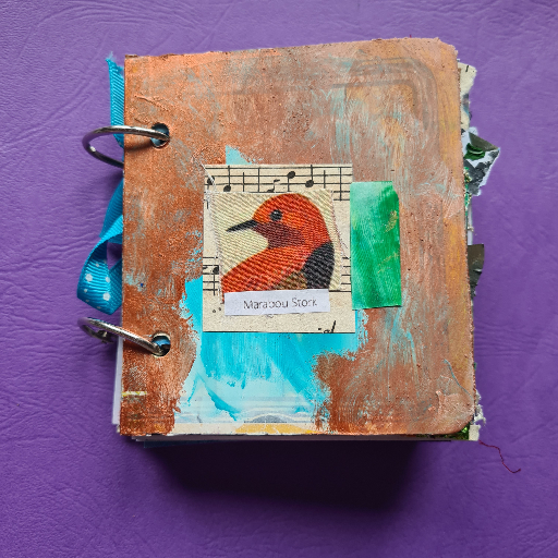 Apothecary Junk Journal - Front Cover